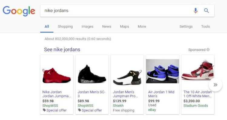 تغييرات على بحث جوجل تجعل التسوق داخل المتجر أسهل