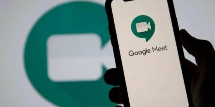 كيفية إستخدام البث المباشر في Google Meet